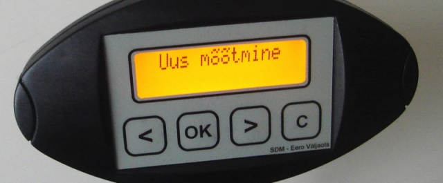 SDM vehicle dynamics measuring device