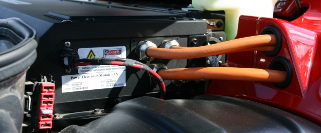 Tesla Roadster power source