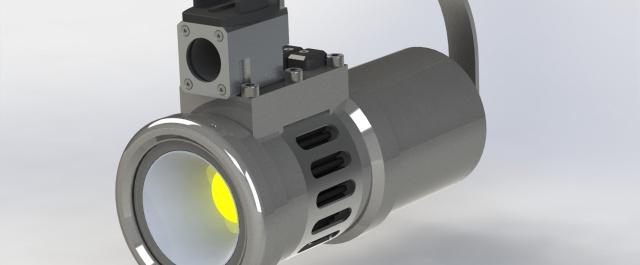 Diving lamp prototypes