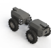 Unmanned tractor second prototype