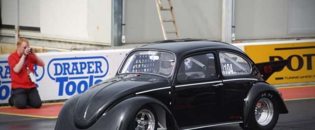 The Black Current VW Beetle