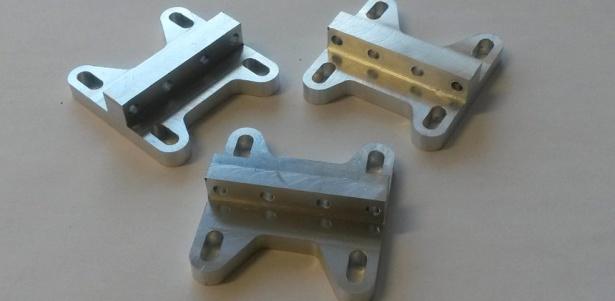 Alumiiniumist freesitud detailid